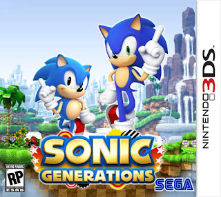 Free Download Sonic Generations 3DS CIA Reg Free