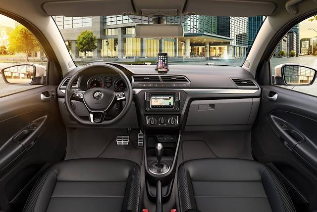 VW Voyage 2017 - interior
