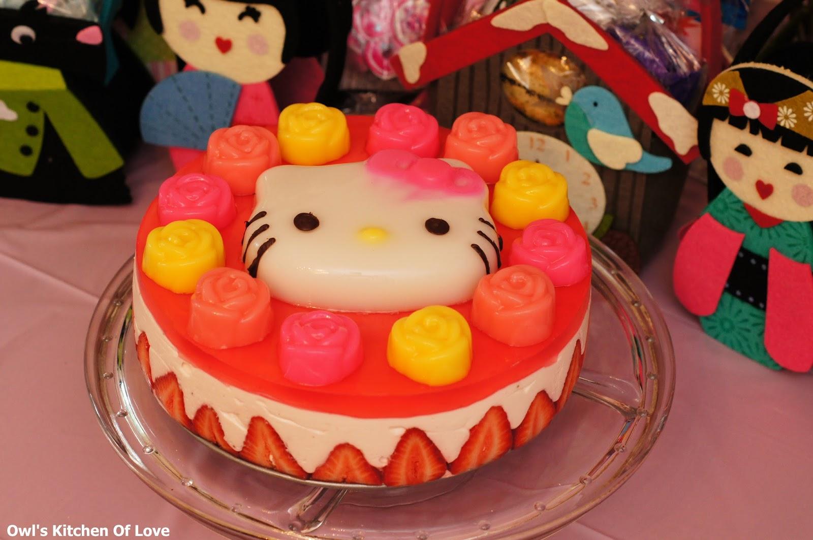 Cartoon Jelly Cake Recipe