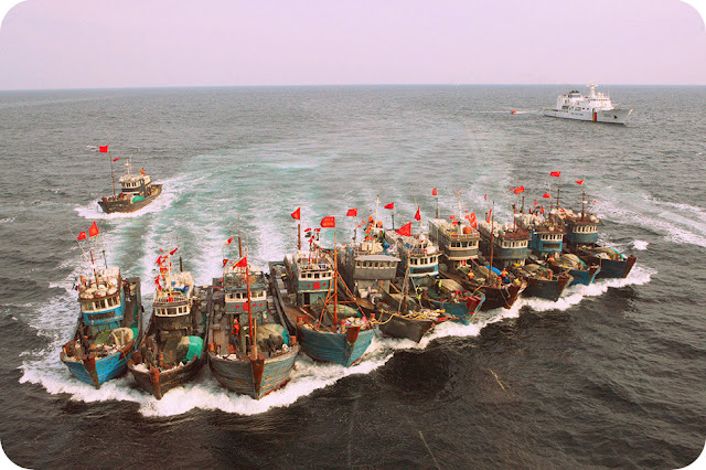 Perairan Maluku Utara Jadi Target Ilegal Fishing Nelayan Asing