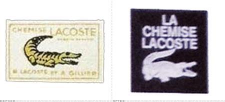 f54fd620d3b7 Somente em 1982 o crocodilo se tornou definitivamente verde. Na onda de  inovações que a marca viveu nas últimas décadas, até o famoso crocodilo  passou por ...