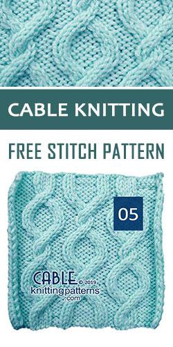 Cable Knitting Free Stitch Pattern 05