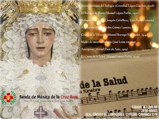 """Estreno Marcha """"Madre de Nuestro Refugio"""". BM Cruz Roja de Sevilla"""