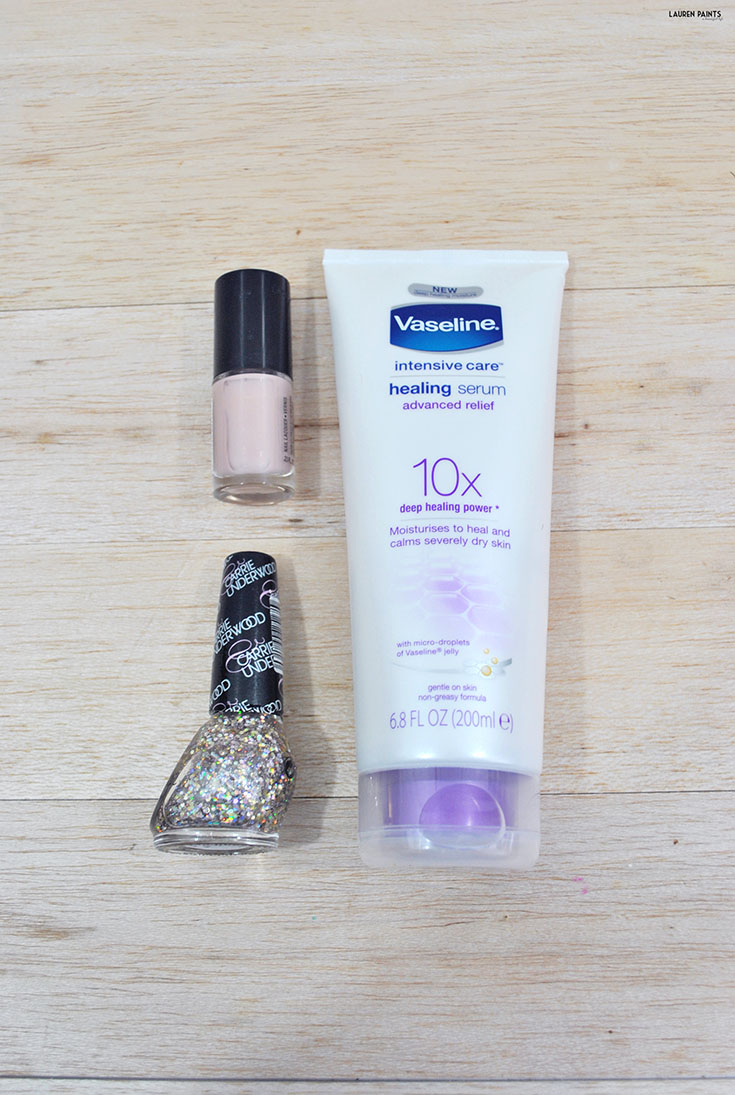My Mani - Pedi Routine with Vaseline® Intensive CareTM Advanced Relief Healing Serum