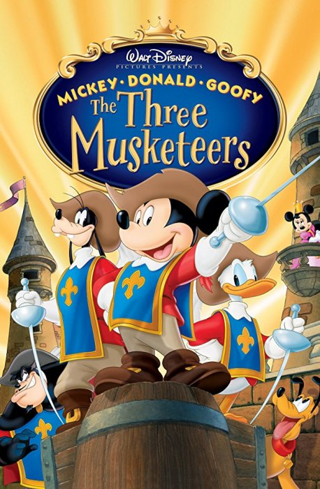 Mickey, Donald, Goofy – Cei Trei Mușchetari  Dublat  În Română