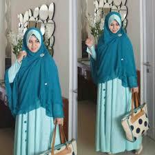 Model Baju Muslimah dengan Hijab Syar'i Terbaru