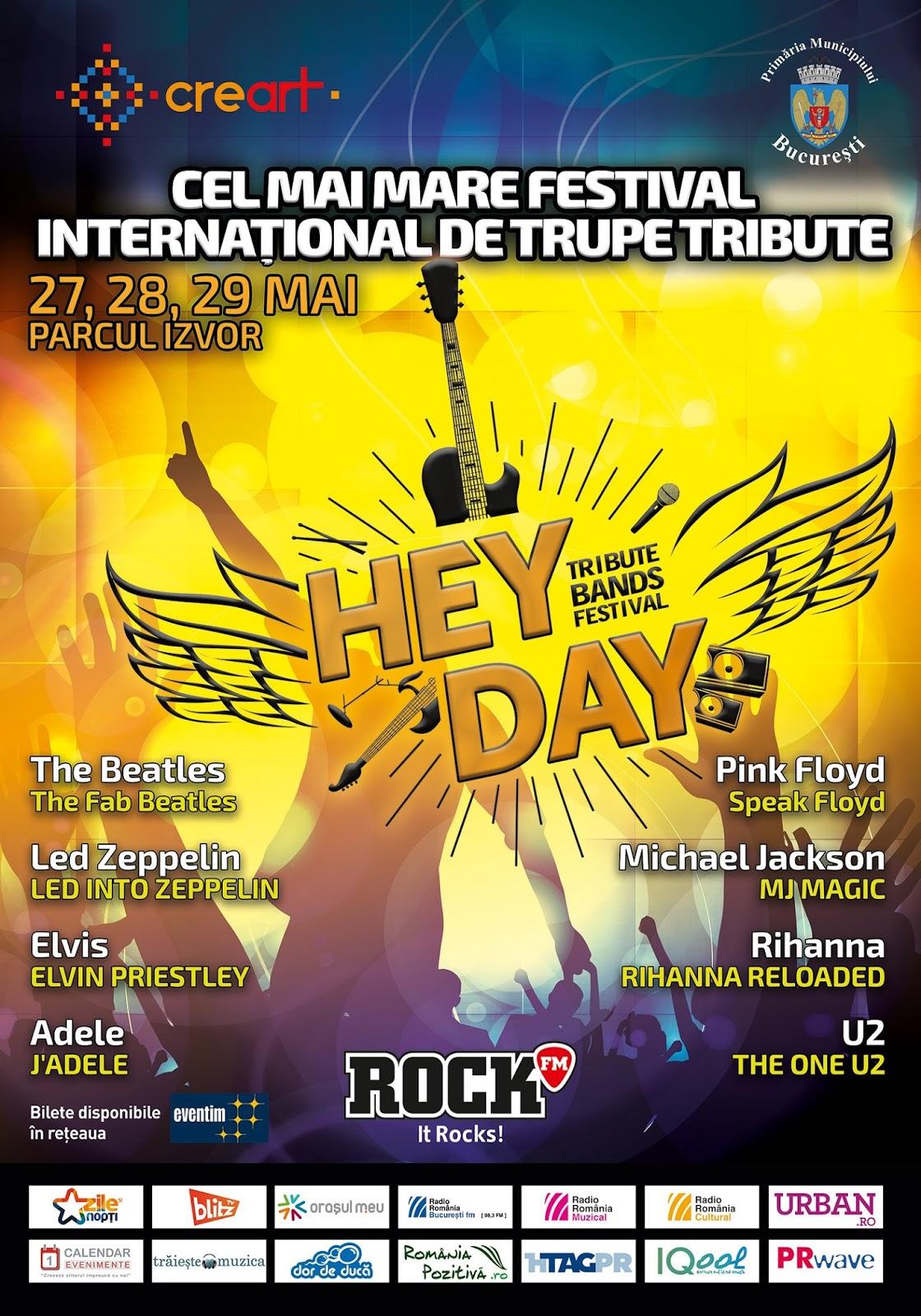 HeyDay Festival - tribute - Izvor. HtagPR - Silviu Pal