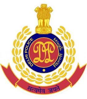 Delhi Police, freejobalert, Sarkari Naukri, Delhi Police Admit Card, Admit Card, delhi police logo
