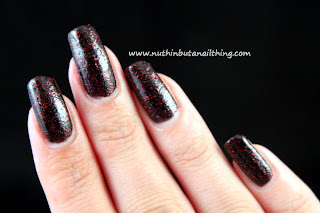 Etude House - Evening Black Sand - Matte Sand Glitters