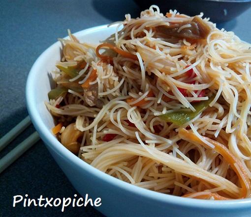 arroz, pasata, noodles, pad thai, sin gluten, soja, tamari, vegano
