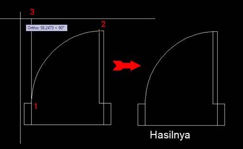 Jumpa lagi sahabat Drafter seluruh Indonesia Cara Membuat Garis Lengkung Di Autocad dan Mengukurnya