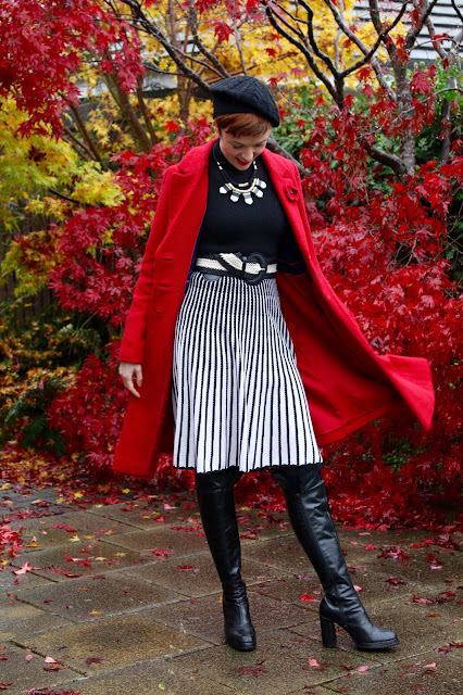 Poppy red & Parisian Chic | Fake Fabulous