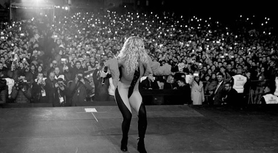 Rita Ora: 300,000 people in Pristina Concert, I would not be here without you
