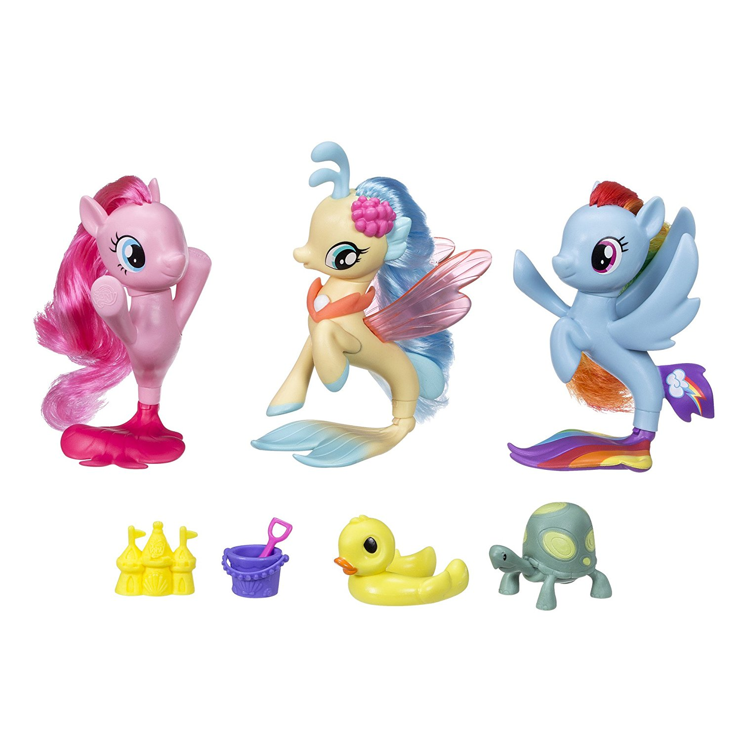 Exclusive Twinkle Pinkie Pie Seapony Collection More