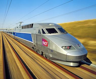 kalautau.com - TGV - Train à Grande Vitesse (Perancis)