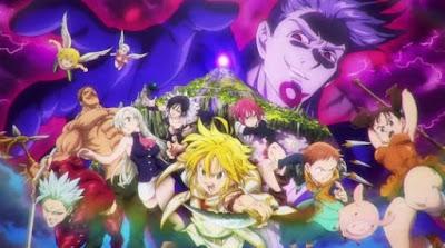 Download Ost Anime Nanatsu no Taizai Movie: Tenkuu no Torawarebito Opening and Ending theme.