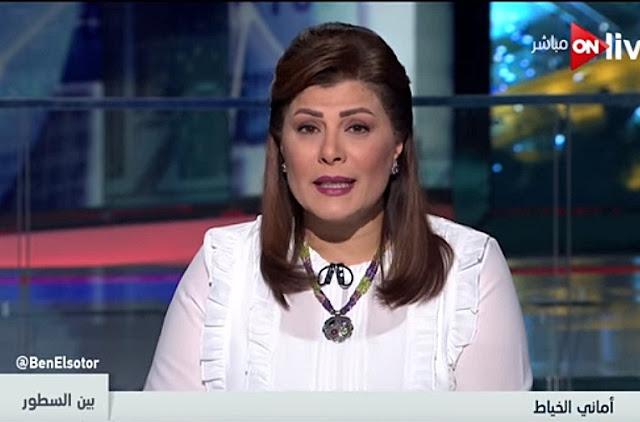 برنامج بين السطور 30-1-2018 أمانى الخياط و حرب الغـــاز