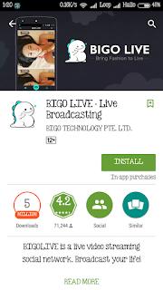 Bigo Live Broadcasting, Aplikasi sosial media video broadcast yang lagi naik daun