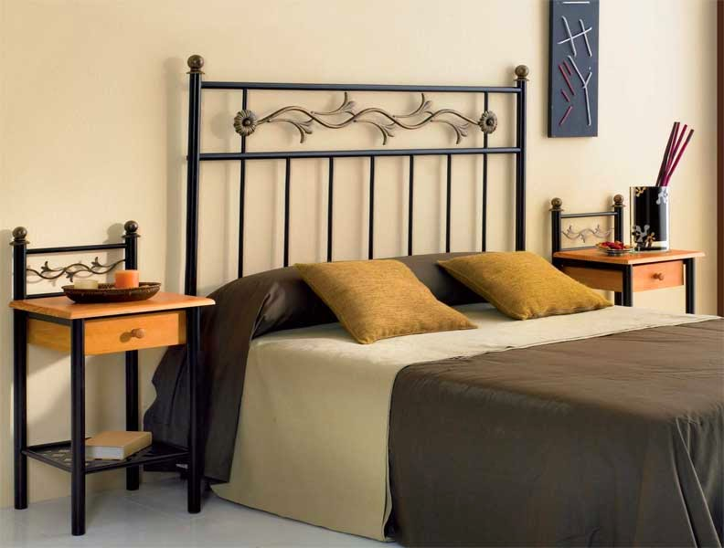 Cabecero cama forja, cabezal de cama