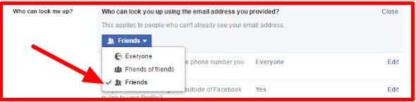 how do you make your facebook profile private to public