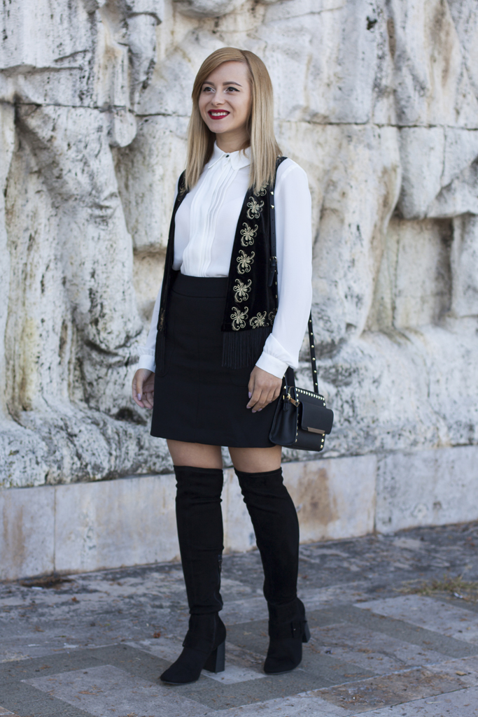 how to wear the over the knee boots from tamaris