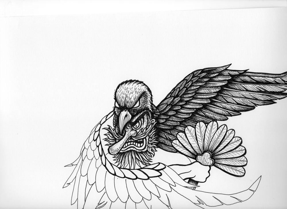 Meerkatsu art tengu wallpaper meerkatsu 39 s blog for Cool art design ideas