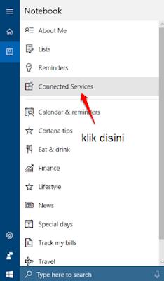 menghubungkan gmail dengan cortana di windows 10-2