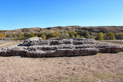 mausoleo romano, ruinas romanas, Villa Materno, Yacimiento romano Carranque