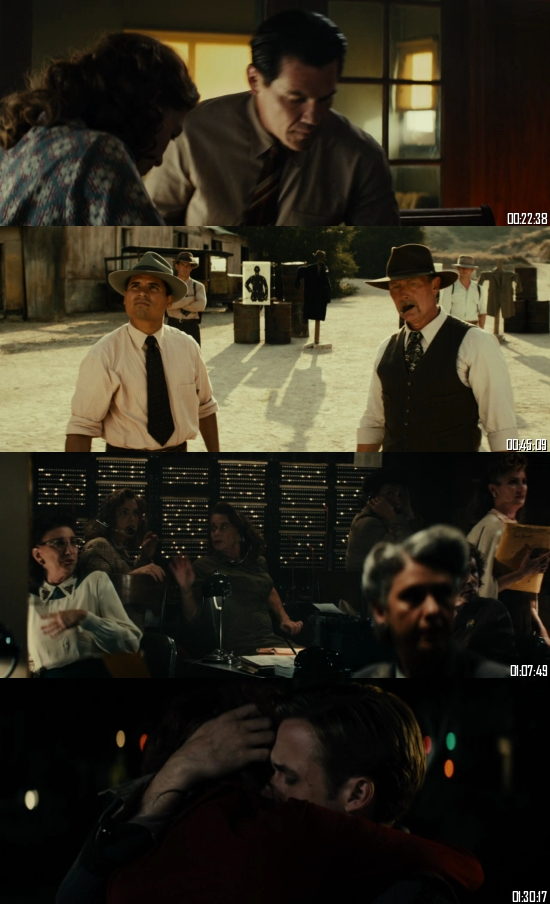 Gangster Squad 2013 BluRay 720p 480p Dual Audio Hindi English Full Movie Download