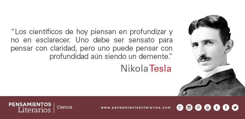 Nikola Tesla Frases - Indígena