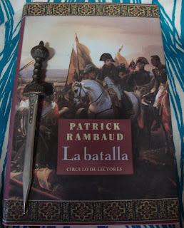 Portada del libro La batalla, de Patrick Rambaud