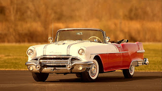 1956 Pontiac Star Chief Convertible Front Left