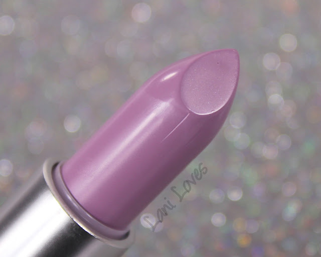 MAC Blue Nectar - Courting Seduction Lipstick Swatches & Review