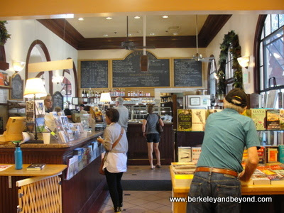 interior of The Depot Bookstore and Cafe in Mill Valley, California