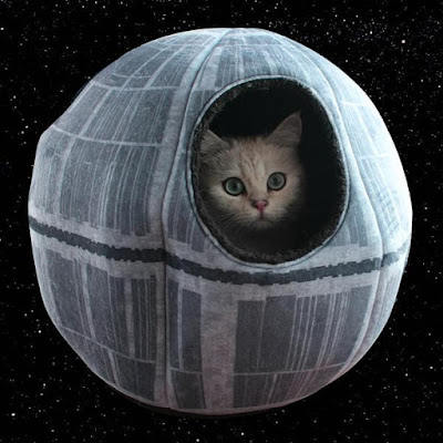 Starwars Themed Cat Cave