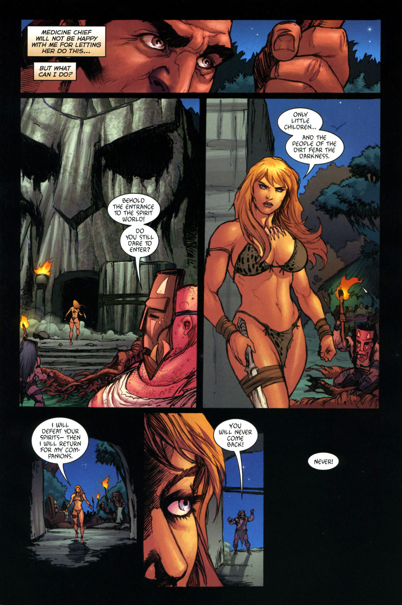 Read online Jungle Girl comic -  Issue #3 - 22