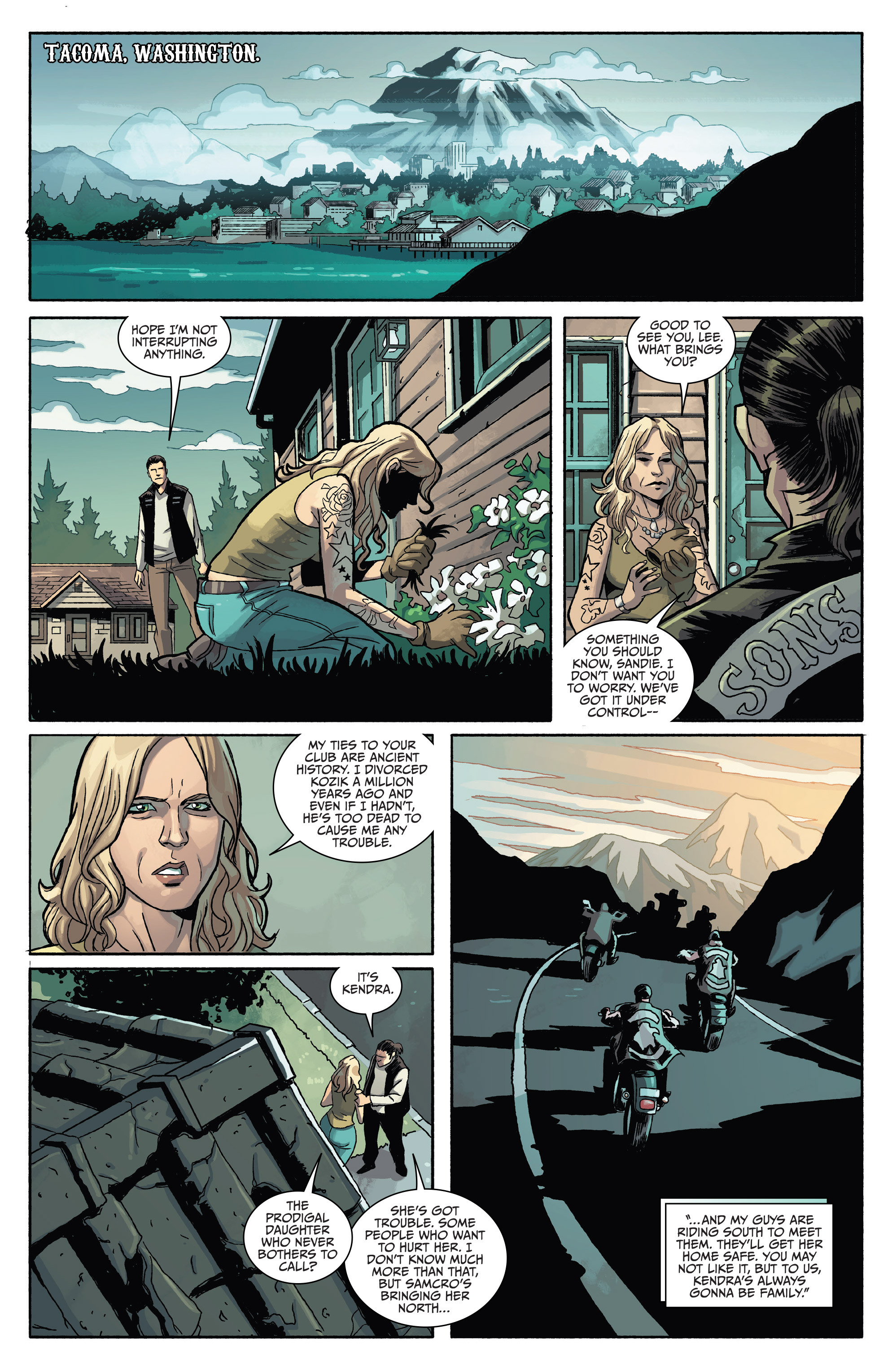 Read online Sons of Anarchy comic -  Issue #4 - 16