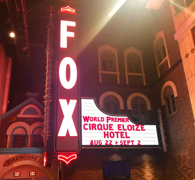 Fox Theater at Foxwoods Marque for Cirque Eloize Hotel