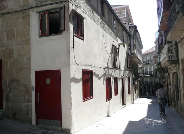 Calles del centro histórico de Vigo