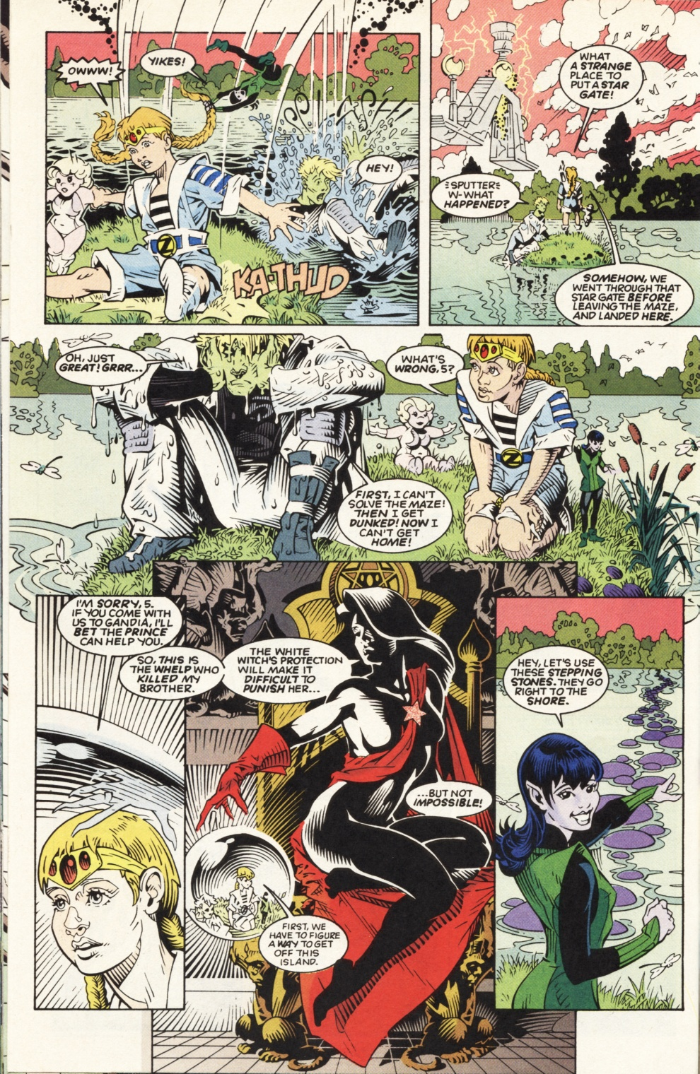 Legion of Super-Heroes (1989) _Annual_6 Page 17