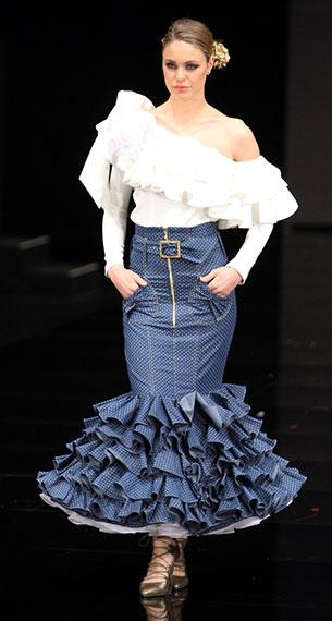 moda trajes flamenca 2017 Verónica de la Vega