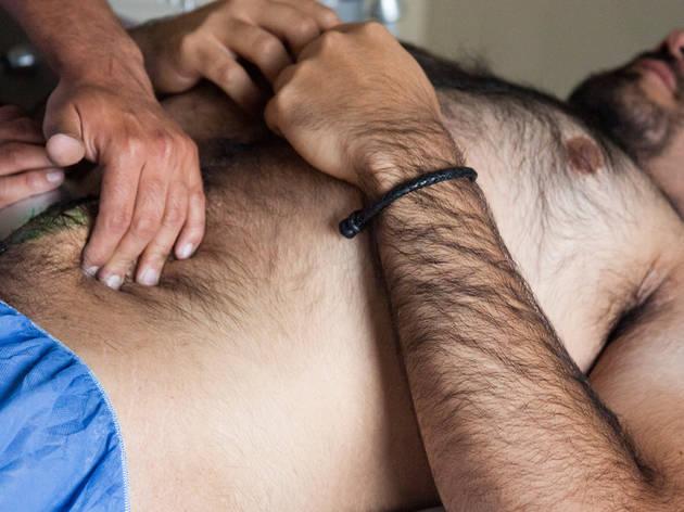 masajista masculino anal gay
