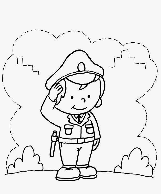 25 de agosto – Dia do Soldado – Desenhos Para Colorir