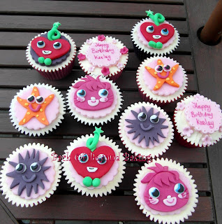 cute girly cupcakes for 5year old