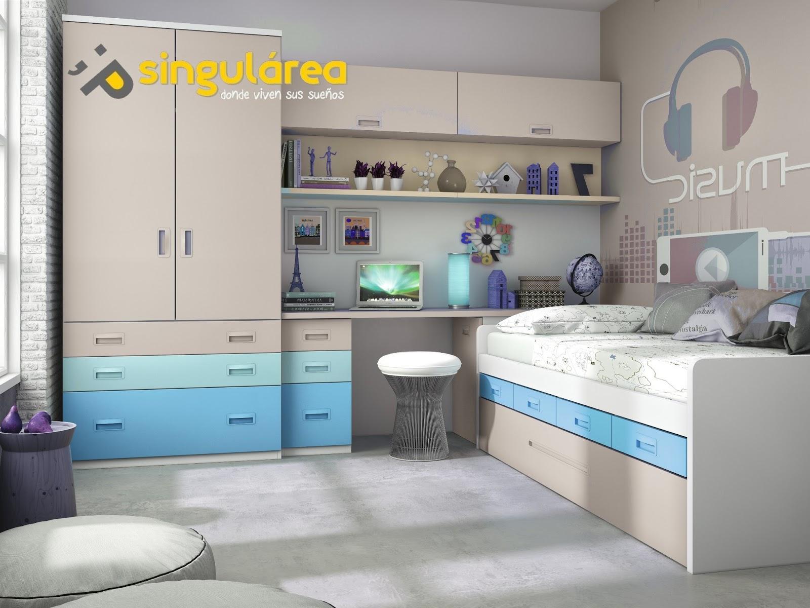 Dormitorio juvenil 1611 - Dormitorios infantiles valencia ...