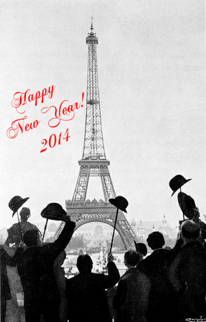 Happy New Year in Paris!