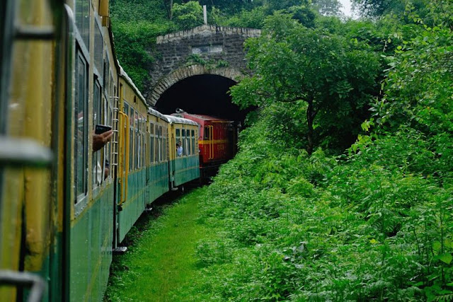ScenicTrain Ride in India