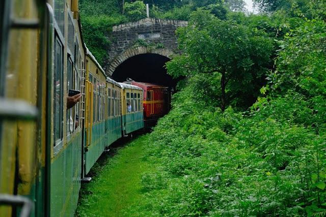 ScenicTrain Ride in India
