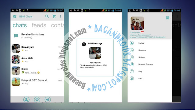 download BBM Mod Tema WIndows Phone Light Versi Terbaru 2.13.1.14 Apk
