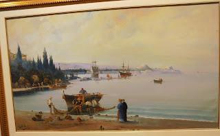 το έργο Πρωινό στην Κέρκυρα του Βασίλειου Χατζή στην Εθνική Πινακοθήκη